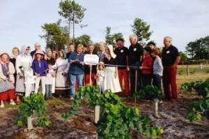 inauguration vigne gujan