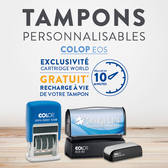 Tampons Personnalisables